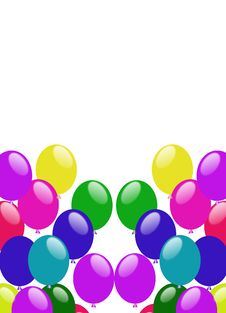 Free Party Colorful Balloons Stock Photos - 20941733