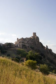 Free Ghost Town Of Craco Stock Photo - 20942590