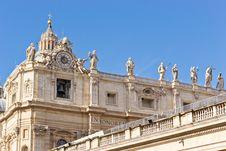 Free Papal Basilica Of Saint Peter Royalty Free Stock Photos - 20943798