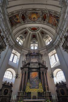 Free Salzburger Dom Royalty Free Stock Photos - 20944328