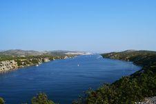 Free Beautiful Croatian Coast By Ferry Royalty Free Stock Photos - 20944348