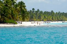 Free Island With Beautiful Beach Stock Image - 20945031