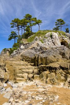 Free San Nicolas Island, Lekeitio, Basque Country Royalty Free Stock Images - 20945319