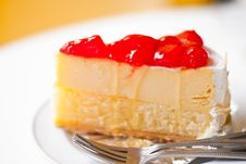 Free Strawberry Cheesecake2 Royalty Free Stock Photography - 20945617