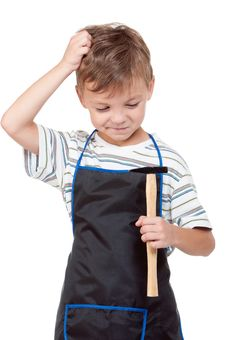 Free Boy With Tools Stock Photo - 20945660