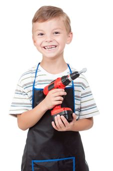 Free Boy With Tools Stock Photo - 20945800