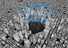 Free Wireless City Stock Image - 20946721