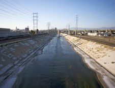 Free Los Angeles River 2 Stock Image - 20946871