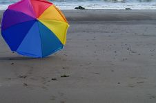 Free Beach Umbrella Stock Photography - 20946992