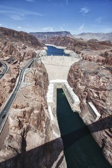 Free Hoover Dam Royalty Free Stock Photo - 20947055