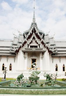 Free Thai Architechture In Temple Of Thailand Royalty Free Stock Image - 20947226