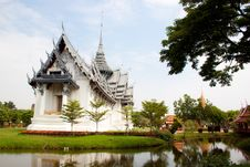 Free Thai Architechture In Temple Of Thailand Stock Image - 20947261