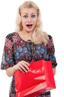 Free Woman With Shopping Bags Royalty Free Stock Images - 20947399