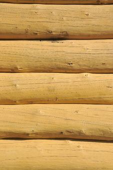 Free Wood Constructed Wall Of An Rural Old Style Cabin Stock Image - 20947591