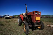 Free Tractor Royalty Free Stock Photography - 20947837
