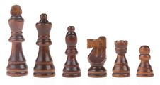 Free Chess Figures On White Stock Photos - 20948223