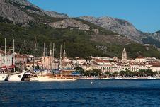 Free The Resort Town Of Makarska In Croatia Royalty Free Stock Photo - 20948425