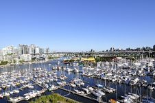 Free Marina In The Heart Of Vancouver Royalty Free Stock Images - 20948749