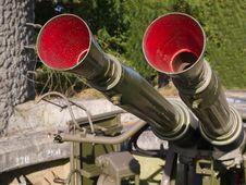 Free Military Anti Aircraft Gun Royalty Free Stock Photo - 20948755
