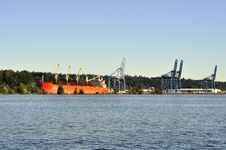 Free A Port On Fraser River Royalty Free Stock Images - 20948869