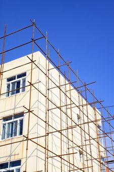 Free Scaffold In Construction Site Royalty Free Stock Photo - 20948875