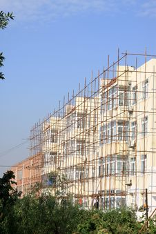 Free Scaffold In Construction Site Royalty Free Stock Photography - 20948937