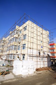 Free Scaffold In Construction Site Stock Photos - 20949053