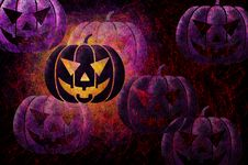 Free Grunge Textured Halloween Night Background Royalty Free Stock Image - 20949356