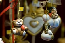 Free Fairy Gifts At Christmaseve In Austria Royalty Free Stock Photos - 20949928