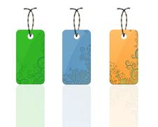 Free Colorful Flora Tags Stock Photography - 20949962