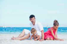 Free Portrait Of Happy Young Family Stock Photos - 20949993