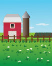 Free Barn And Fence Royalty Free Stock Image - 20957166