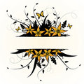Free Floral Design. Vector Illustration Royalty Free Stock Image - 20958216
