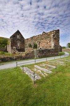 Iona Nunnery Ruins Stock Photos