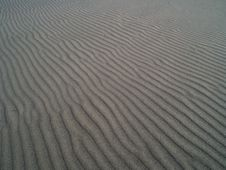 Free Striped Texture Of Sand Stock Photography - 20950442