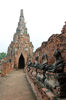 Free Old Thai Temple Stock Photo - 20950940