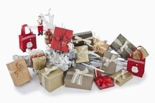 Free Christmas Parcels Stock Image - 20951811