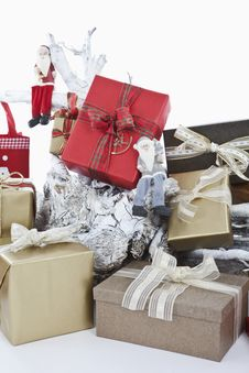 Free Christmas Parcels Stock Photo - 20951880
