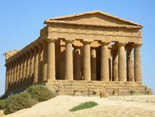 Free Temple Of Concord Royalty Free Stock Photo - 20951895
