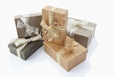 Free Christmas Parcels Royalty Free Stock Photos - 20952008