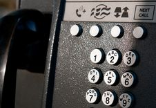 Free Telephone Keypad Royalty Free Stock Image - 20953846
