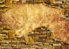 Free Background With Brick Stock Photography - 20954182