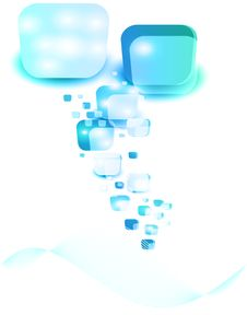 Free Vector Blank Square Ice Stock Image - 20954211