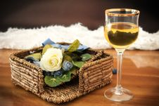 Free Glass Of Wine Royalty Free Stock Image - 20955016