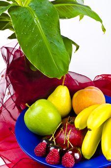 Fruit Bowls Stock Photos