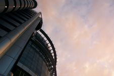 Futuristic Building Stock Image