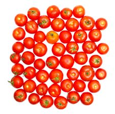 Free Multitude Of Tomatoes Close-up Royalty Free Stock Images - 20955599