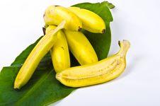 Free Banana Sheet With Bananas Royalty Free Stock Photography - 20955617