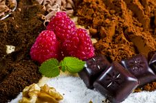 Chocolate And Kaffe Royalty Free Stock Image