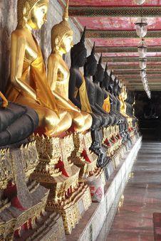 Free Buddha In Thailand Royalty Free Stock Photo - 20956725